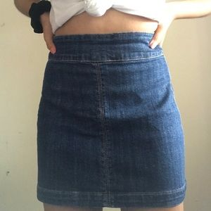 denim skirt from f21!